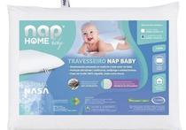 Travesseiro Viscoelástico Nasa Recém Nascido Baby Nap -