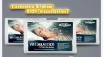 Travesseiro Viscoelástico Ortobom antialérgico -