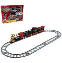 Trem Ferrorama Classic Train à Pilha c/ Locomotiva Vagões e Trilho - Wellmix -