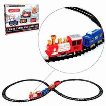 Trem Locomotiva  Eletrico Ferrorama Expresso NA93657W - Art brink