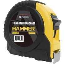 Trena Manual Emborrachada Com Trava Hammer 25mm X 5 Metros -