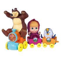 Trenzinho Masha E O Urso 2403 - Cotiplás -
