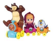 Trenzinho - Masha e o Urso - Cotiplas 2403 -