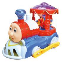 Trenzinho Musical A Pilha Bate E Volta Com Luz E Som DMT5107 - DM Toys - Toyng