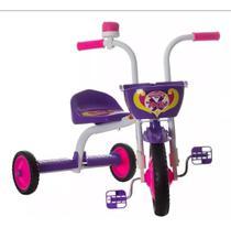 Triciclo 3 Rodas Bicicleta Infantil Menina Ultra Bike Rosa -