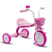 Triciclo 3 Rodas Bicicleta Infantil Menina You3 Girl - Nathor -