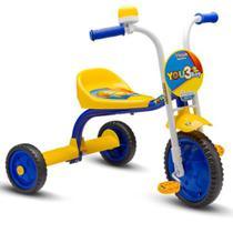 Triciclo 3 Rodas Bicicleta Infantil Menino You3 Boy - Nathor -