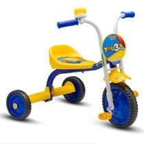 Triciclo 3 Rodas Infantil Nathor Alumínio You 3 Boy Menino -