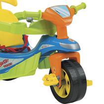 Triciclo Andador Baby Trike Evolution Azul - Biemme -