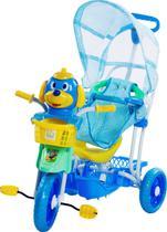 Triciclo Carrinho Infantil  3x1 Multifunções C/ Som E Luz - Belfix