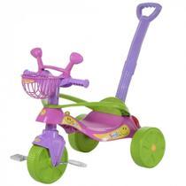 Triciclo com Empurrador Smile Confort Rosa - Biemme -