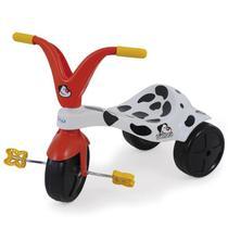 Triciclo Com Pedal Infantil Dálmata Branco 7376 Xalingo -