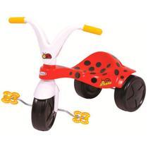 Triciclo Com Pedal Infantil Joaninha Vermelho 7321 Xalingo -