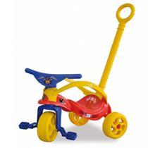 Triciclo do Mickey com Empurrador e Proteção - Xalingo