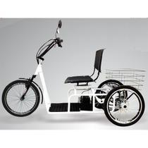 Triciclo Elétrico 800W Aro 20 Freio a Disco Confort Branco - Duos