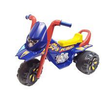 Triciclo Elétrico Fox GF Azul 6V Biemme -