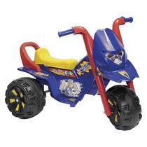 Triciclo Elétrico Infantil Biemme Fox GF Azul E Vermelho -