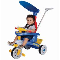 Triciclo infantil azul motoca fit trike magic toys
