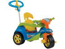 Triciclo Infantil Baby Trike Evolution 614 - com Empurrador Biemme