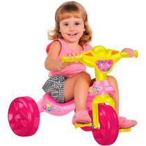 Triciclo Infantil Bandeirante Kid Cross - Barbie -