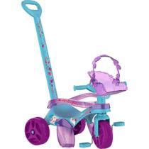 Triciclo Infantil Bandeirante Mototico - 2 em 1 - Pedal e Passeio com Aro - Frozen II -