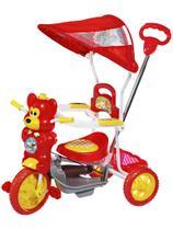 Triciclo Infantil Bebe Motoca Passeio C/ Som Luz Empurrador - Dmbrasil