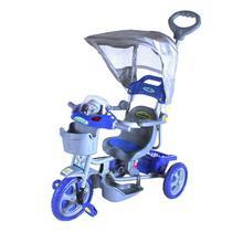 Triciclo Infantil Bel Brink 900800 Azul Com Capota Removível -