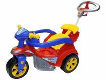 Triciclo Infantil Biemme com Empurrador - Baby Trike -