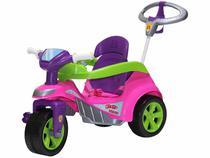 Triciclo Infantil Biemme com Empurrador - Baby Trike
