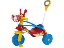 Triciclo Infantil Biemme com Empurrador - Smile Confort Elite Haste Removível
