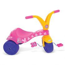 Triciclo Infantil Borboletinha Rosa Xalingo Brinquedos Rosa -