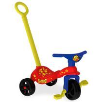 Triciclo Infantil Cachorrinho Com Empurrador 7494 Xalingo -