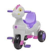Triciclo Infantil Calesita Carrinho De Passeio Didino 2 Em 1 -