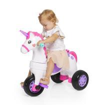 Triciclo Infantil Calesita Fantasy Rosa -
