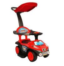 Triciclo Infantil Carrinho c/ Teto Vermelho BW060VM Importway -