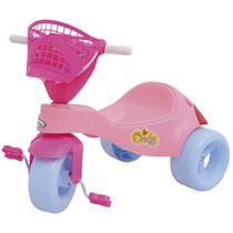 Triciclo Infantil Cindy Com Pedal Rosa 7698 Xalingo -