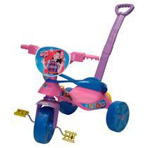 Triciclo Infantil com Empurador Carinha de Anjo - Biemme BIE-479 -