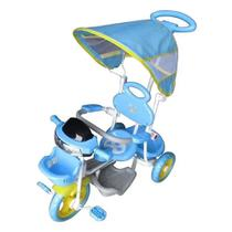 Triciclo Infantil Empurrador Passeio Motoca C/cobertura Sol - Importway