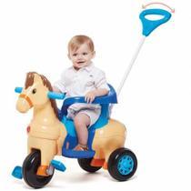 Triciclo Infantil Empurrar Passeio Poto Calesita 1011 -