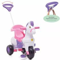 Triciclo Infantil Empurrar Passeio Poto Rosa Calesita 1012 -