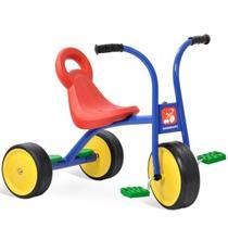 Triciclo infantil escolar pega carona - Bandeirante