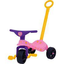 Triciclo Infantil Fofinha com Empurrador - Xalingo