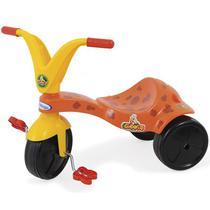 Triciclo Infantil Girafito Com Pedal Vermelho 7787 Xalingo -