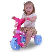 Triciclo Infantil Lolli Pop Xalingo Brinquedos Rosa -