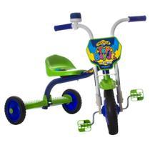 Triciclo Infantil Menino Com Buzina Top Boy Jr Ultra Bikes Verde -
