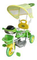 Triciclo Infantil Motoca 2 Em 1 Com Som, Luz E Capota Color - Importway