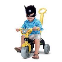 Triciclo Infantil Motóca Menino Velotrol  Preto Dos Herois - Samba Toys