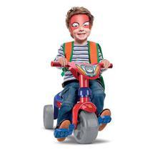 Triciclo Infantil Motóca Menino Velotrol Vermelho Dos Herois - Samba Toys
