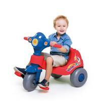 Triciclo Infantil - Passeio e Pedal - Velocita - Calesita -  VERMELHO -