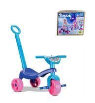Triciclo Infantil Princesa Judy Com Haste Empurrador - Samba Toys